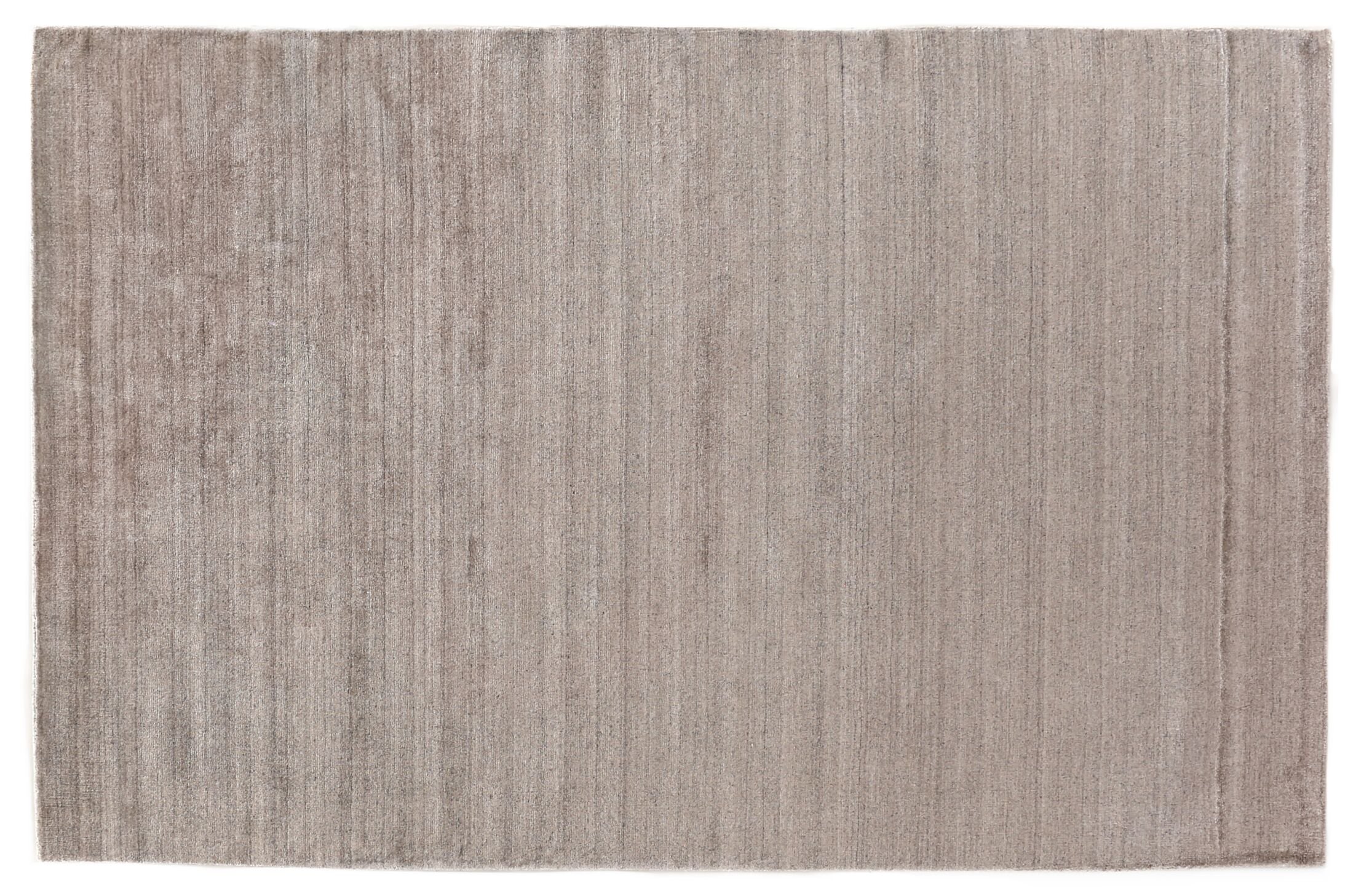 Sanctuary Hand Woven Silk Taupe Area Rug Rug Size: Rectangle 10' x 14'