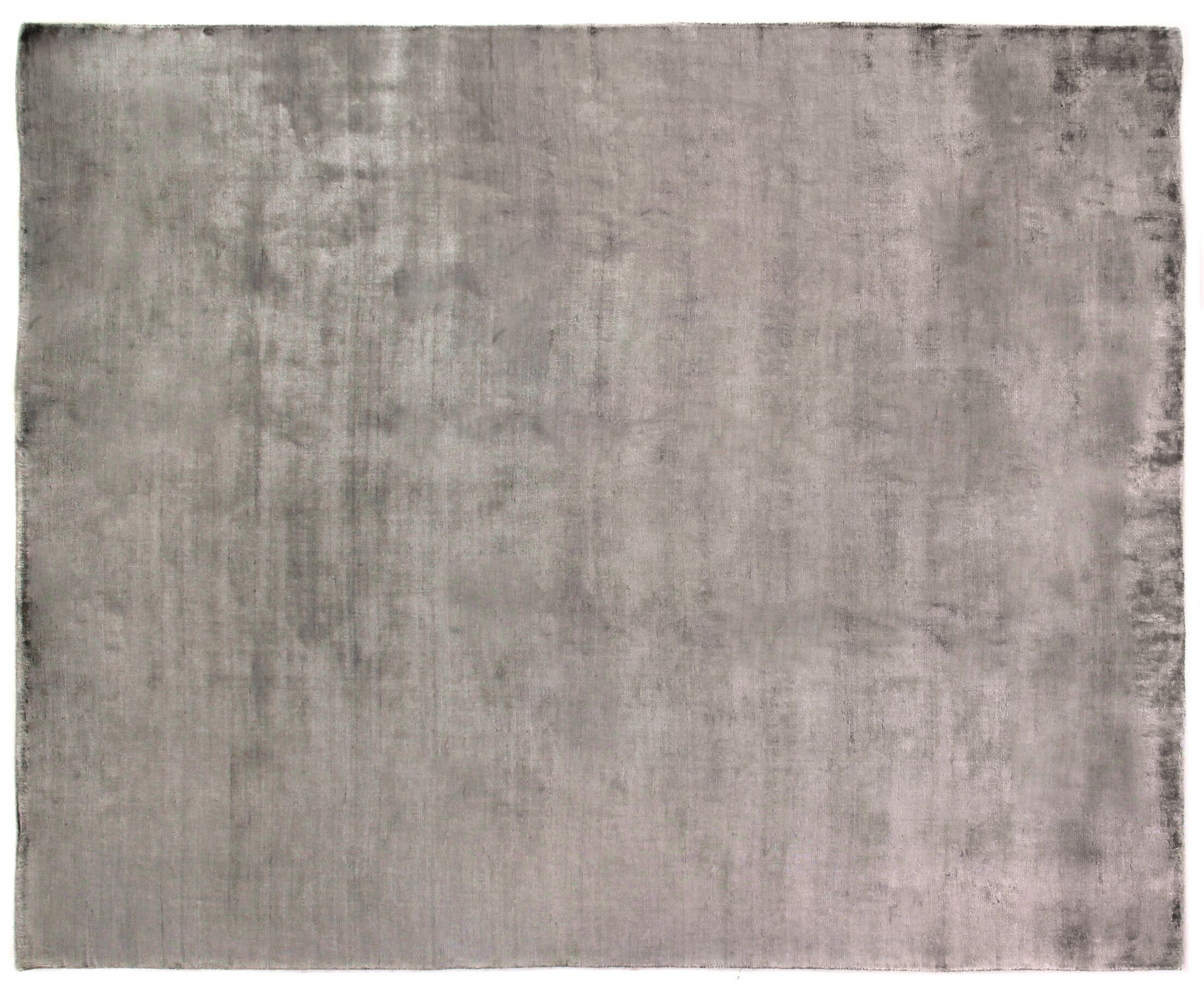 Purity Hand-Woven Gray Area Rug Rug Size: Rectangle 12' x 15'
