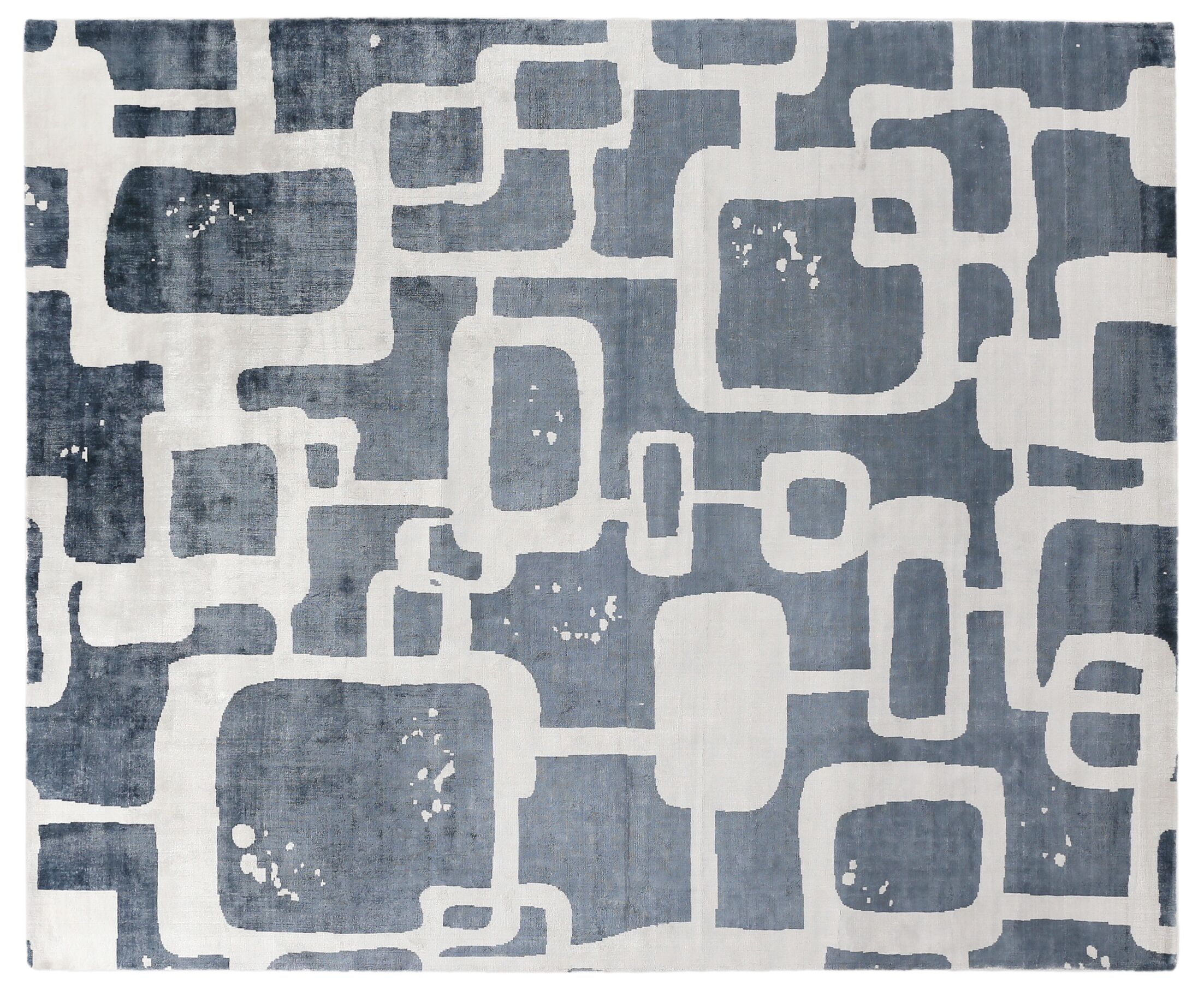 Koda Silk Denim Area Rug Rug Size: Rectangle 10' x 14'