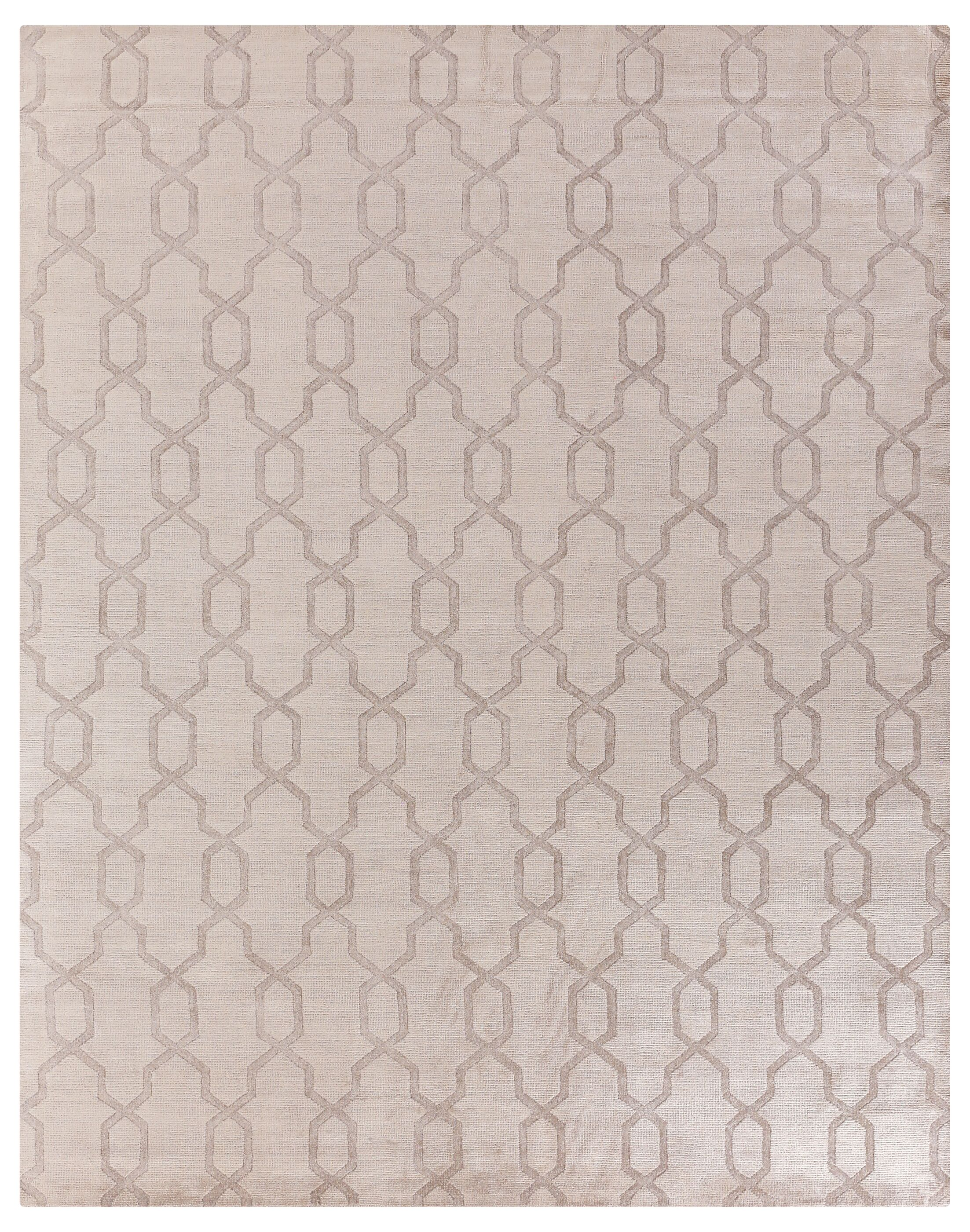 Samara Hand-Woven Gray Area Rug Rug Size: Rectangle 10' x 14'
