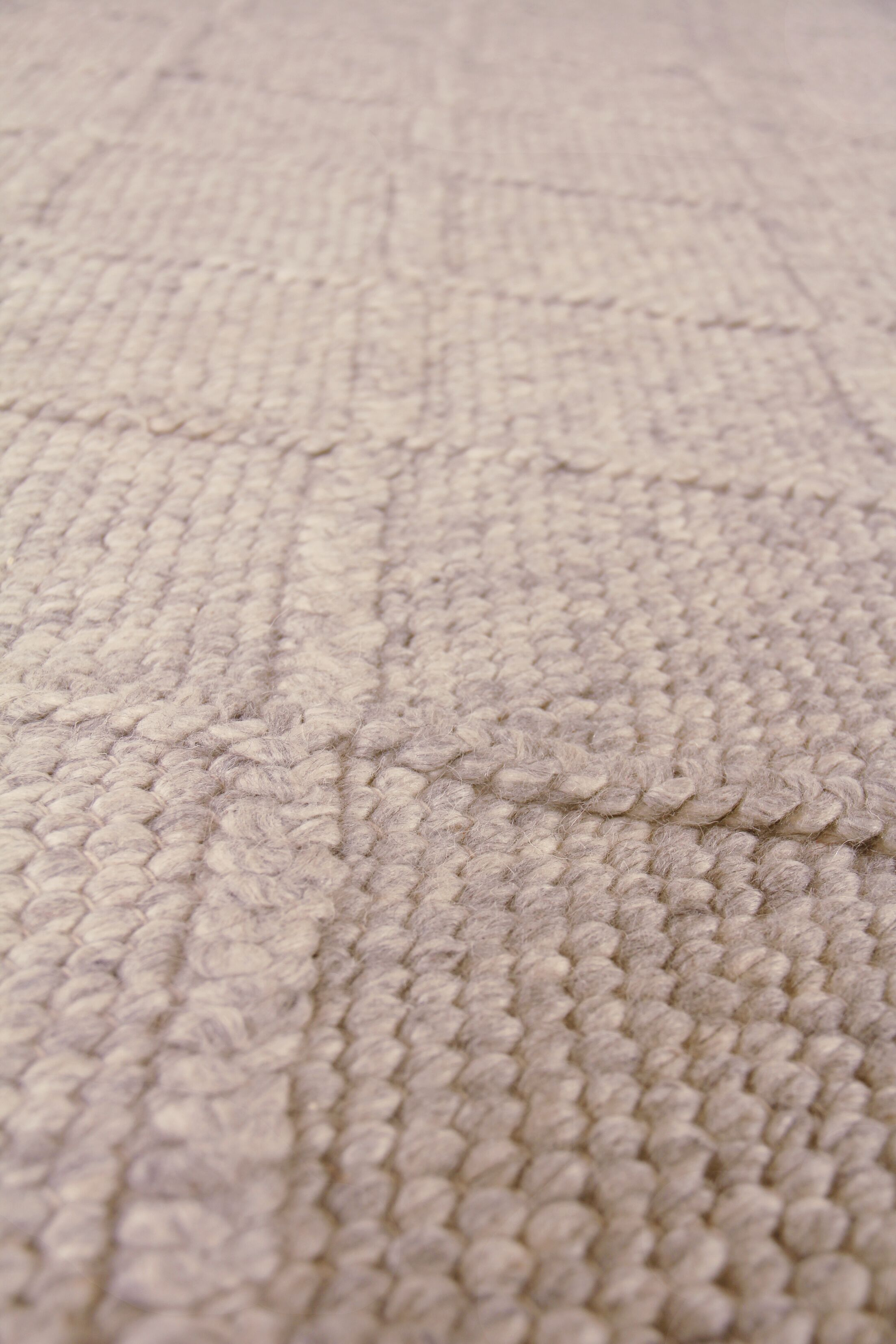 Brentwood Hand-Woven Wool Beige Area Rug Rug Size: Rectangle10' x 14'