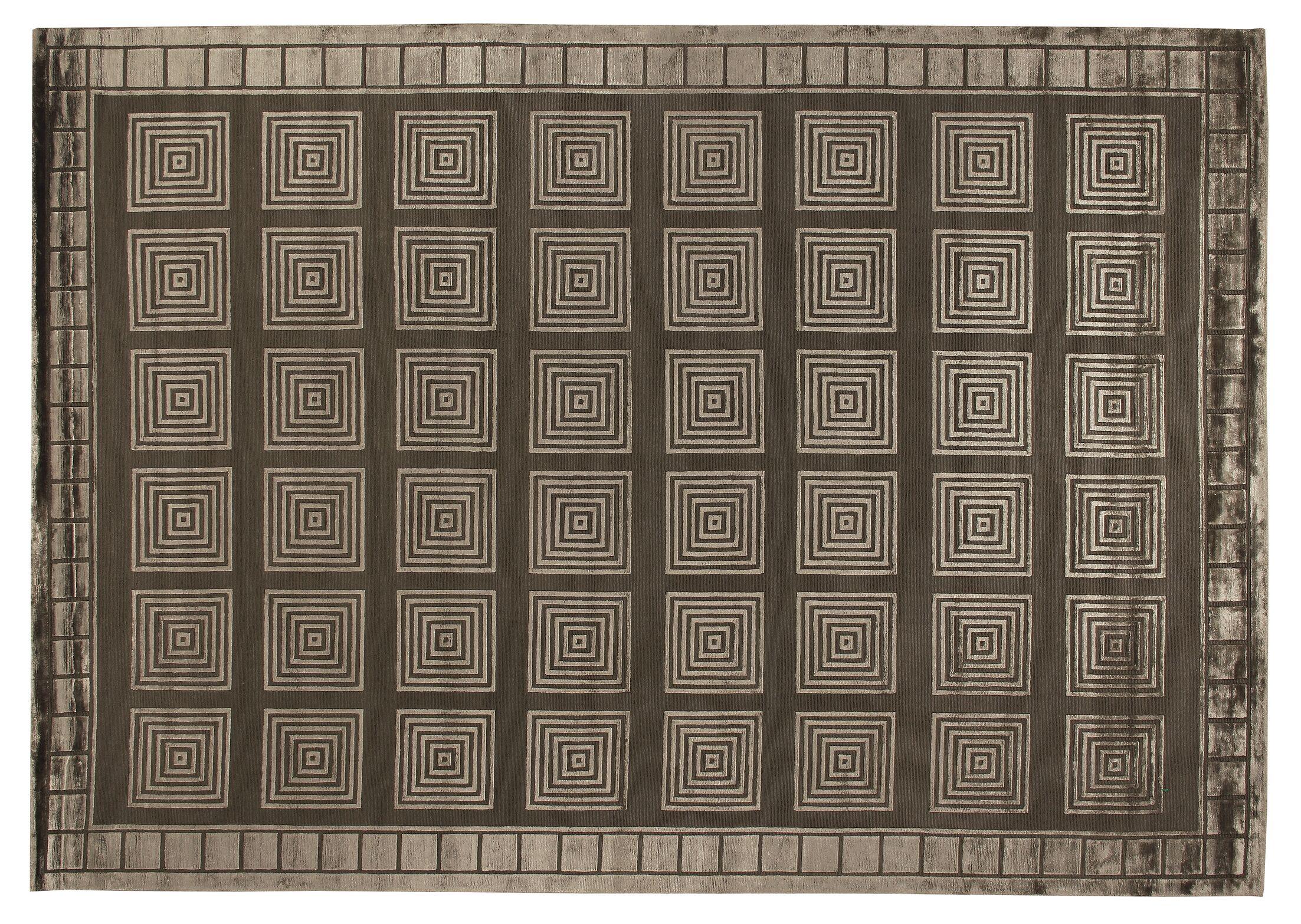 Metro Hand Woven Khaki Area Rug Rug Size: Rectangle 8' x 10'