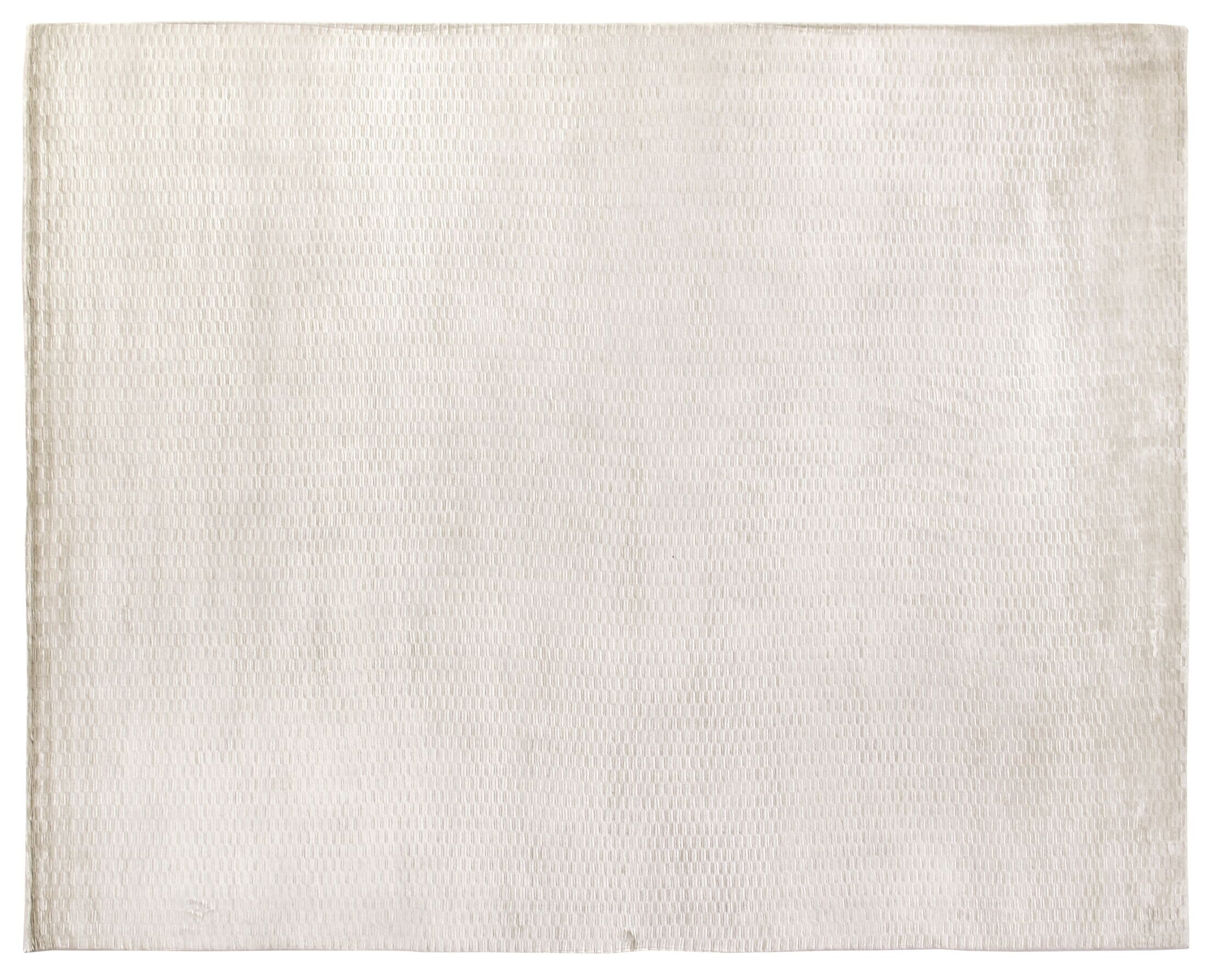Dove Embossed Hand-Woven Silver Area Rug Rug Size: Rectangle 9' x 12'