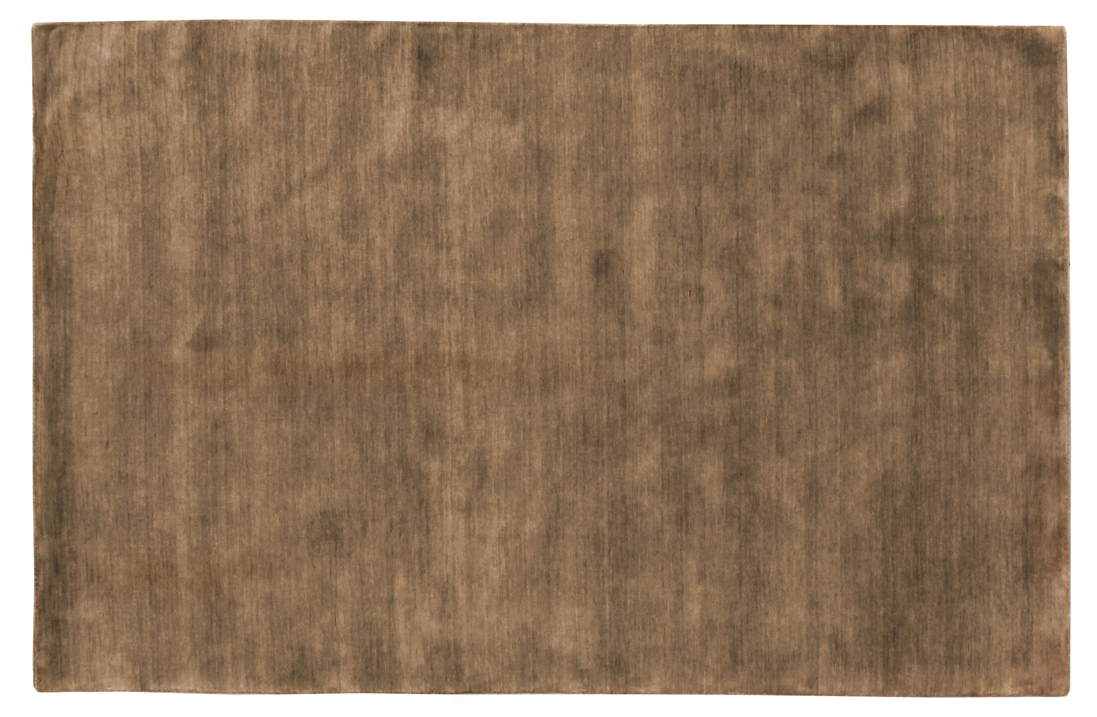 Dove Hand Woven Wool Taupe Area Rug Rug Size: Rectangle 6' x 9'
