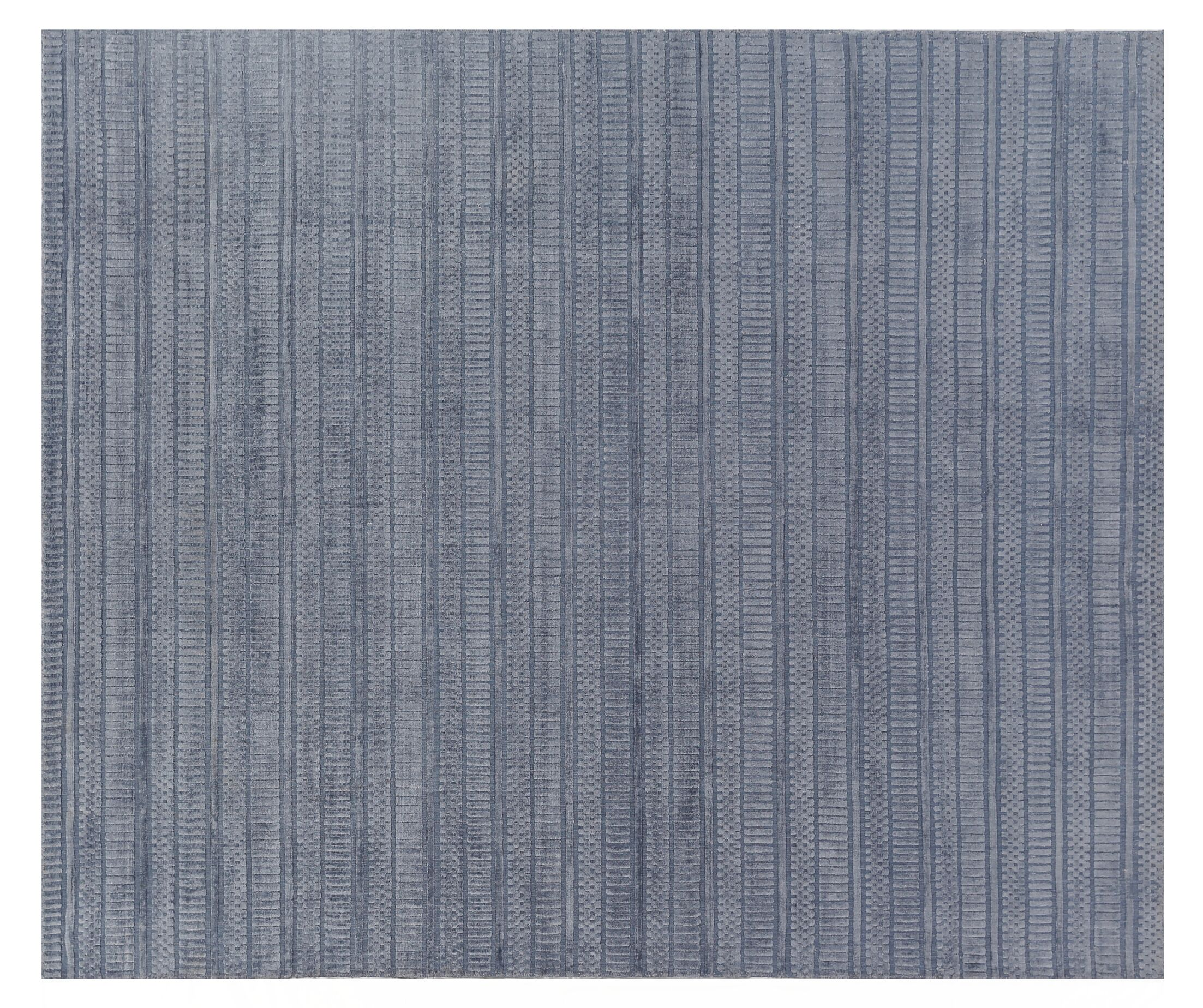Addison Hand-Woven Gray Area Rug Rug Size: Rectangle6' x 9'