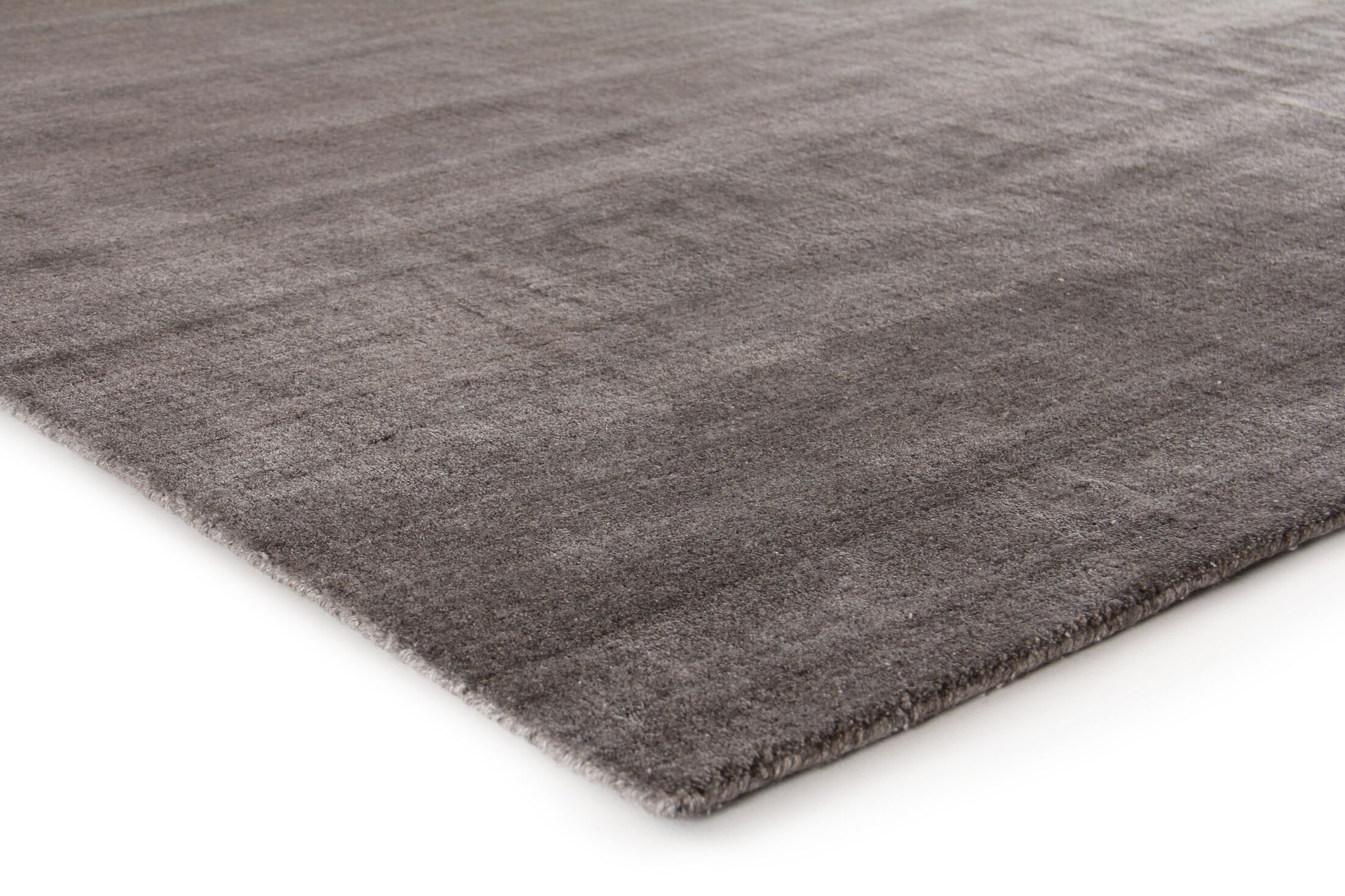 Sanctuary Hand-Woven Silk Brown Area Rug Rug Size: Rectangle 8' x 10'