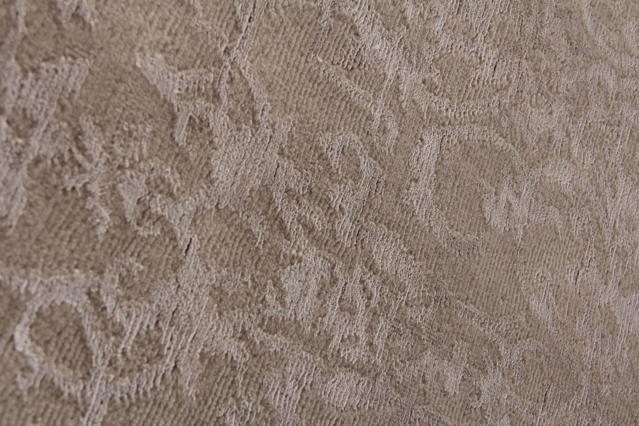 Fine Hand-Knotted Brown/Silver Area Rug Rug Size: Rectangle12' x 15'
