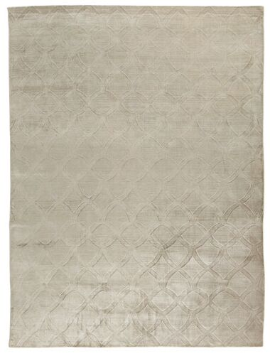 Smooch Carved Hand-Woven Silver Area Rug Rug Size: Rectangle 10' x 14'