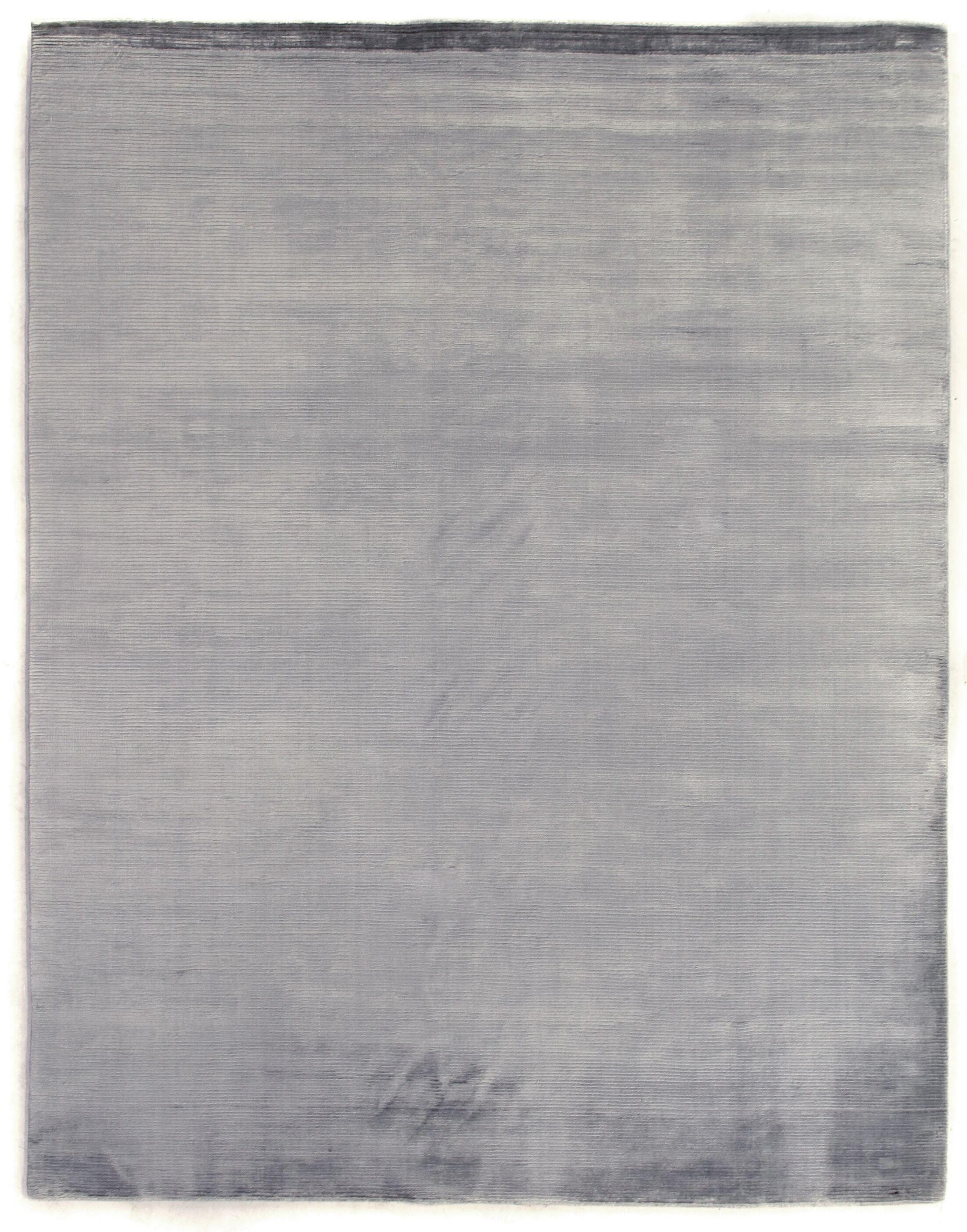 Dove Hand-Woven Gray Area Rug Rug Size: 4' x 6'