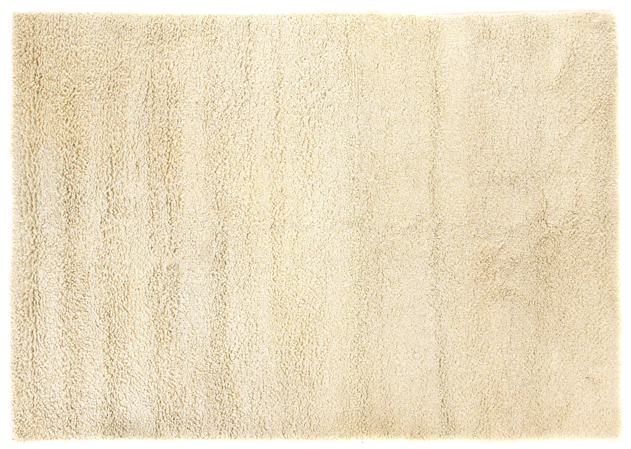 Sumo Shag and flokati Wool Ivory Area Rug Rug Size: 5' x 8'