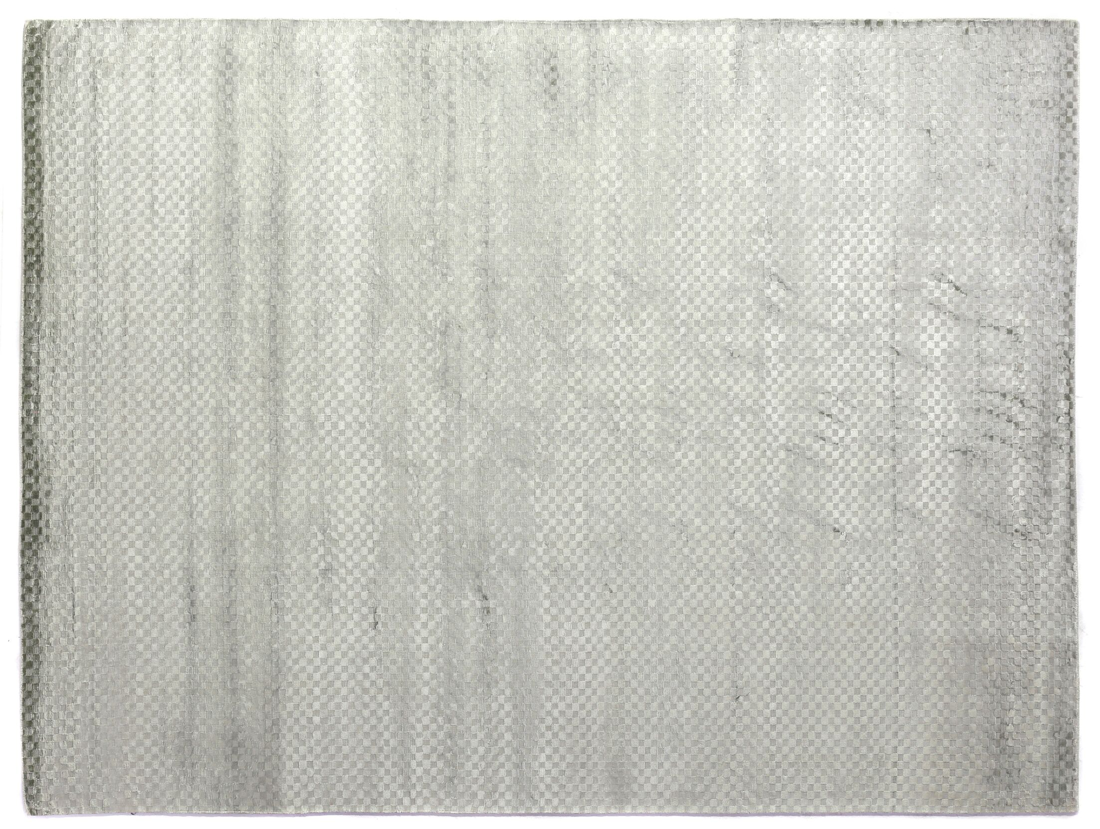 Dove Oxford Hand-Woven Gray Area Rug Rug Size: 12' x 15'