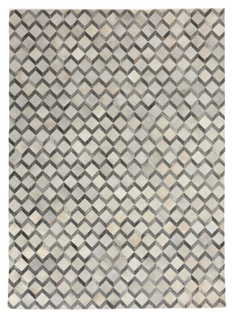Natural Hide Ivory Area Rug Rug Size: Rectangle 8' x 11'
