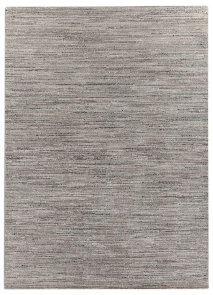 Hand-Woven Dark Gray Area Rug Rug Size: 8' x 10'