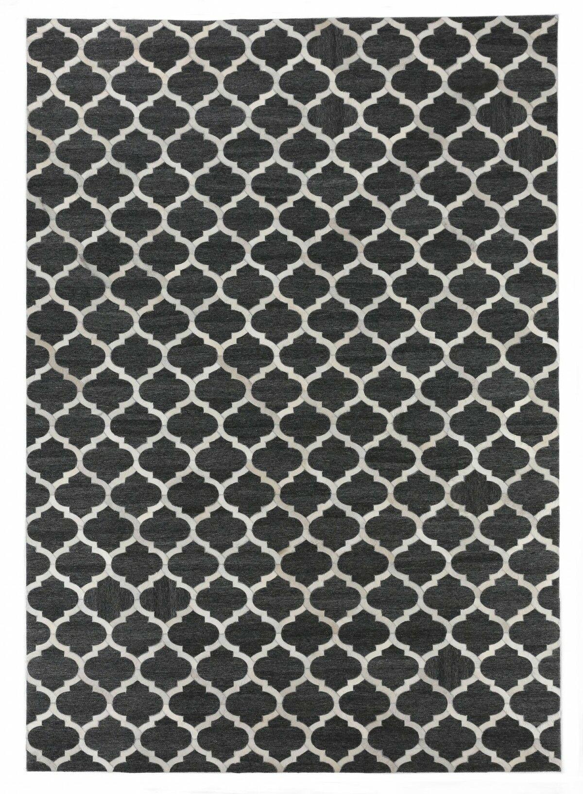 Charcoal/Ivory Area Rug Rug Size: Rectangle 11'6