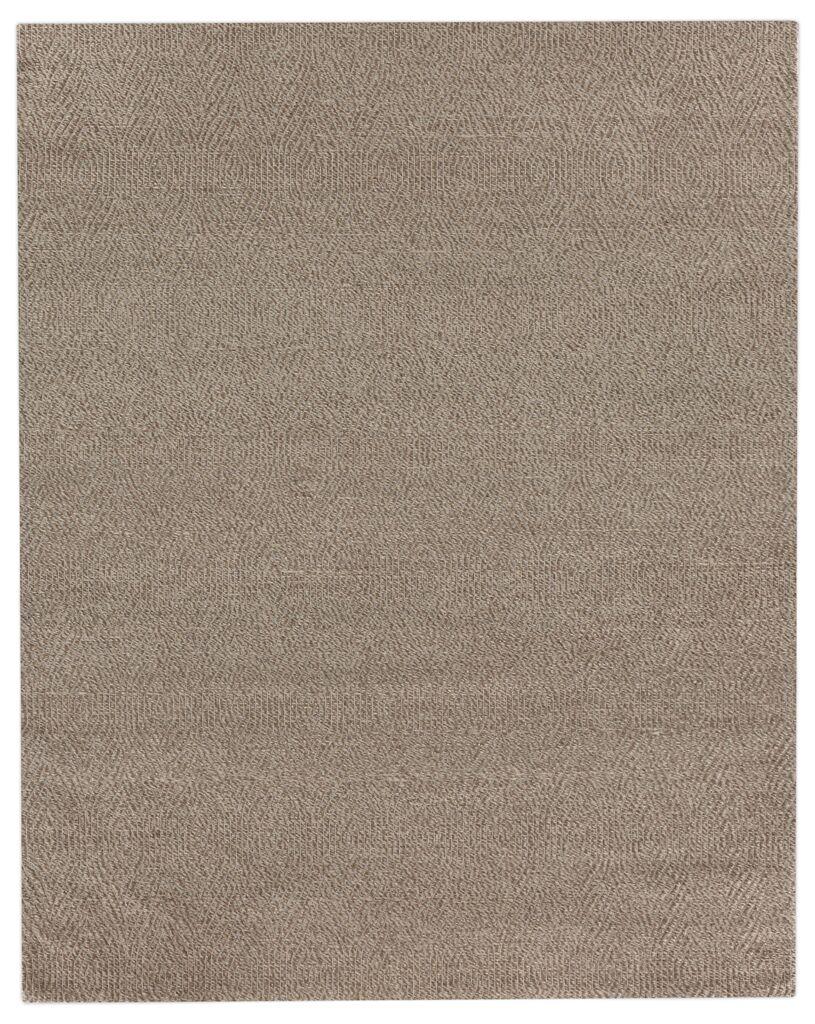 Honeycomb Hand-Woven Wool Beige Rug Rug Size: Rectangle 8' x 10'