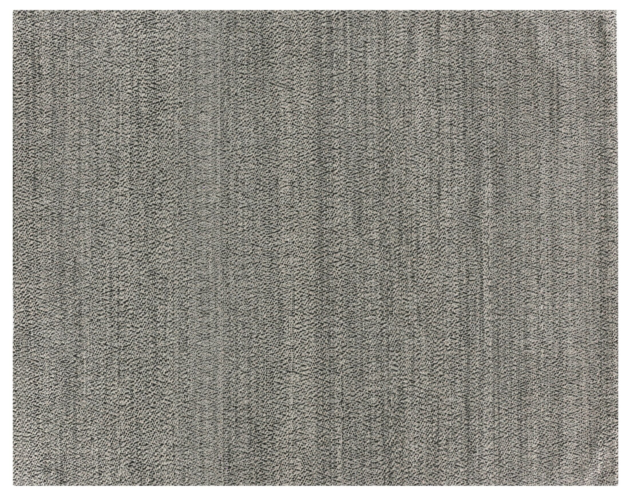 Hand-Woven Wool Black Area Rug Rug Size: Rectangle 12' x 15'
