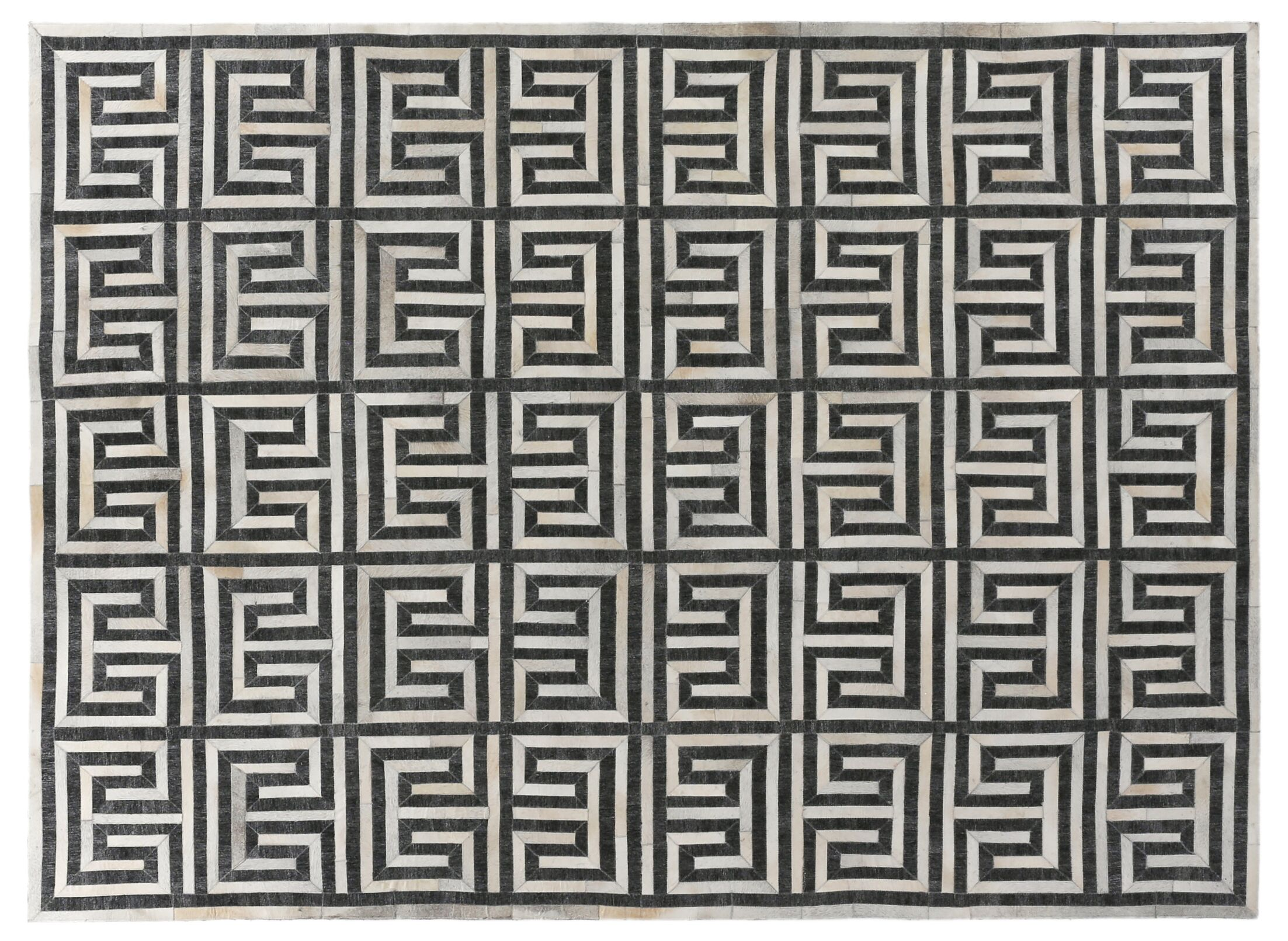 Charcoal/Ivory Rug Rug Size: Rectangle 9'6