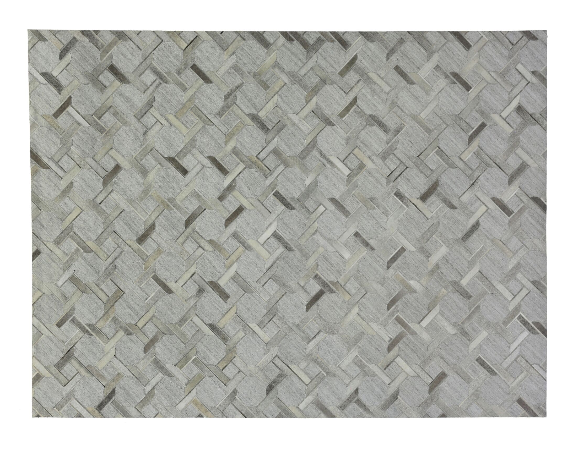 One-of-a-Kind Berlin Hand-Woven Silver/Gray Area Rug Rug Size: Rectangle 8' x 11'