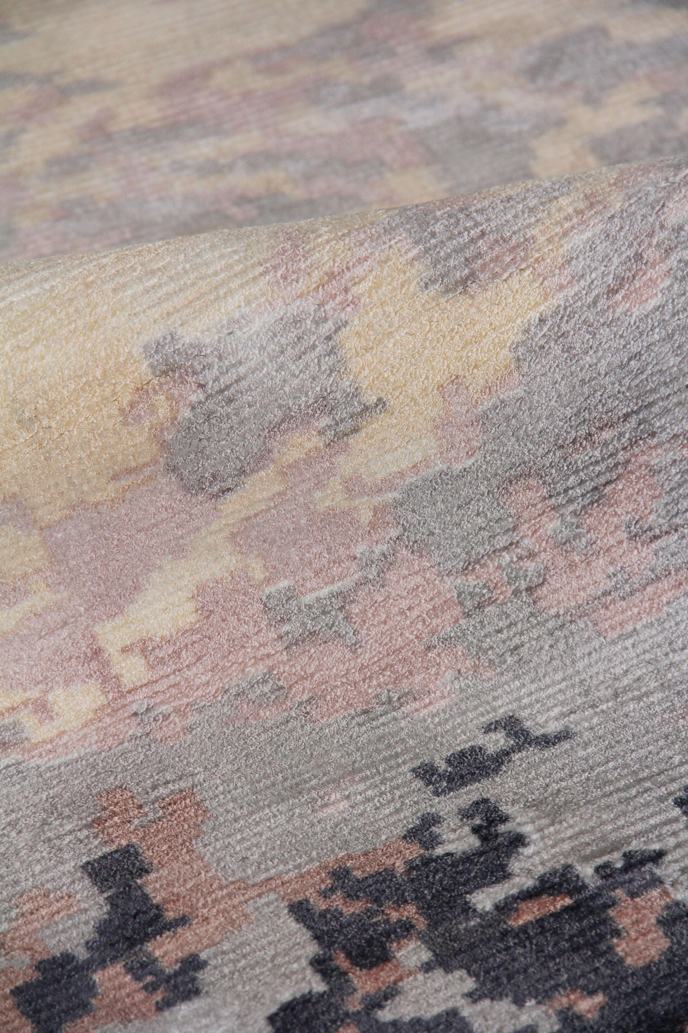 Koda Hand-Woven Ivory/Black Area Rug Rug Size: Rectangle5' x 8'