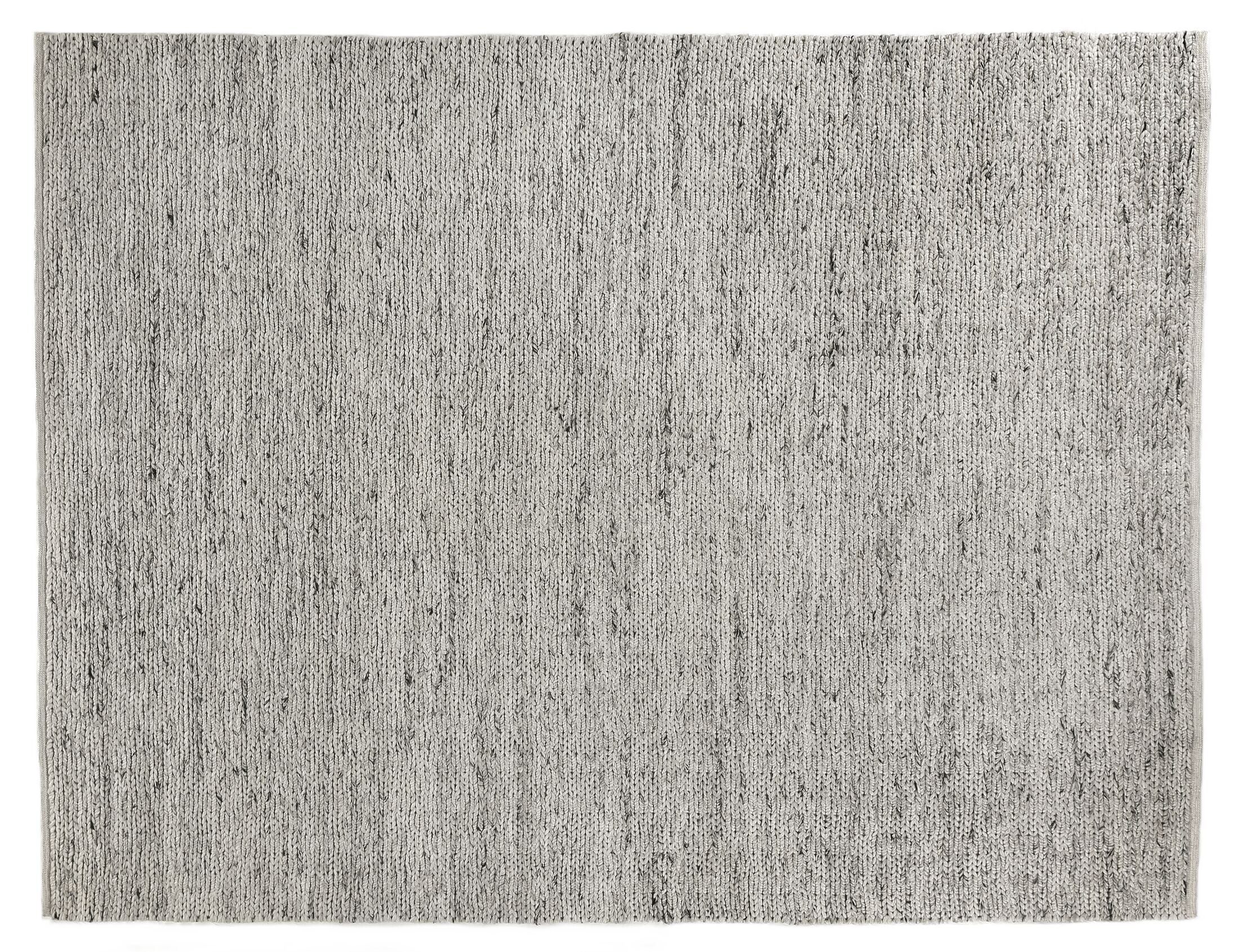 Lauryn Hand-Woven Silver Area Rug Rug Size: Rectangle 10' x 14'