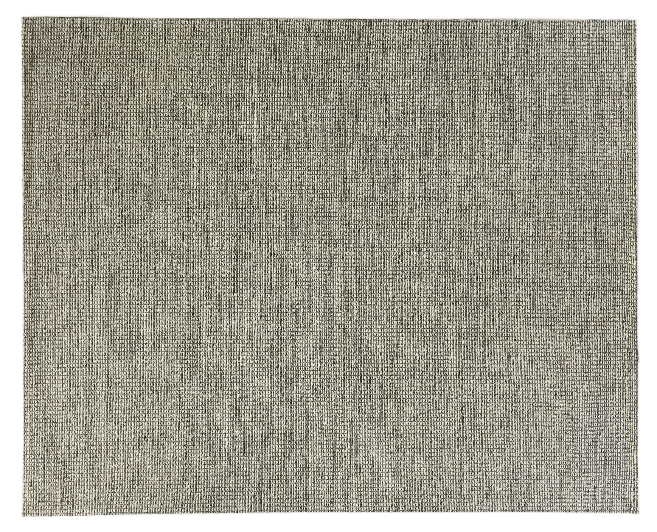 Crestwood Hand-Woven Black Area Rug Rug Size: Rectangle 12' x 15'