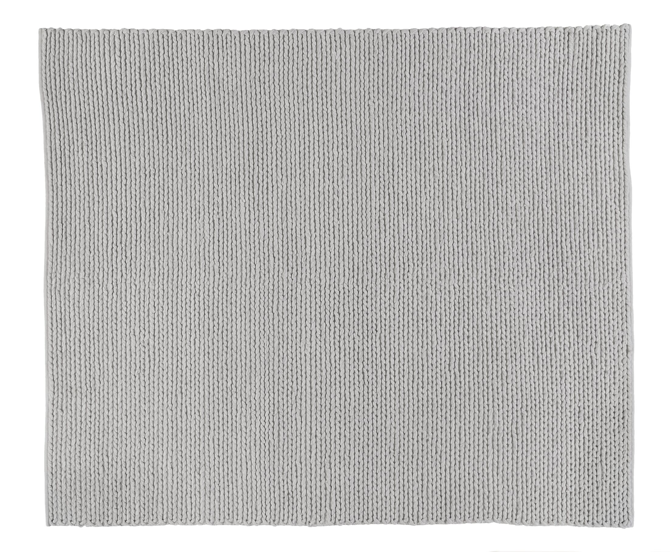 Arlow Hand-Woven Light Gray Area Rug Rug Size: Rectangle 6' x 9'