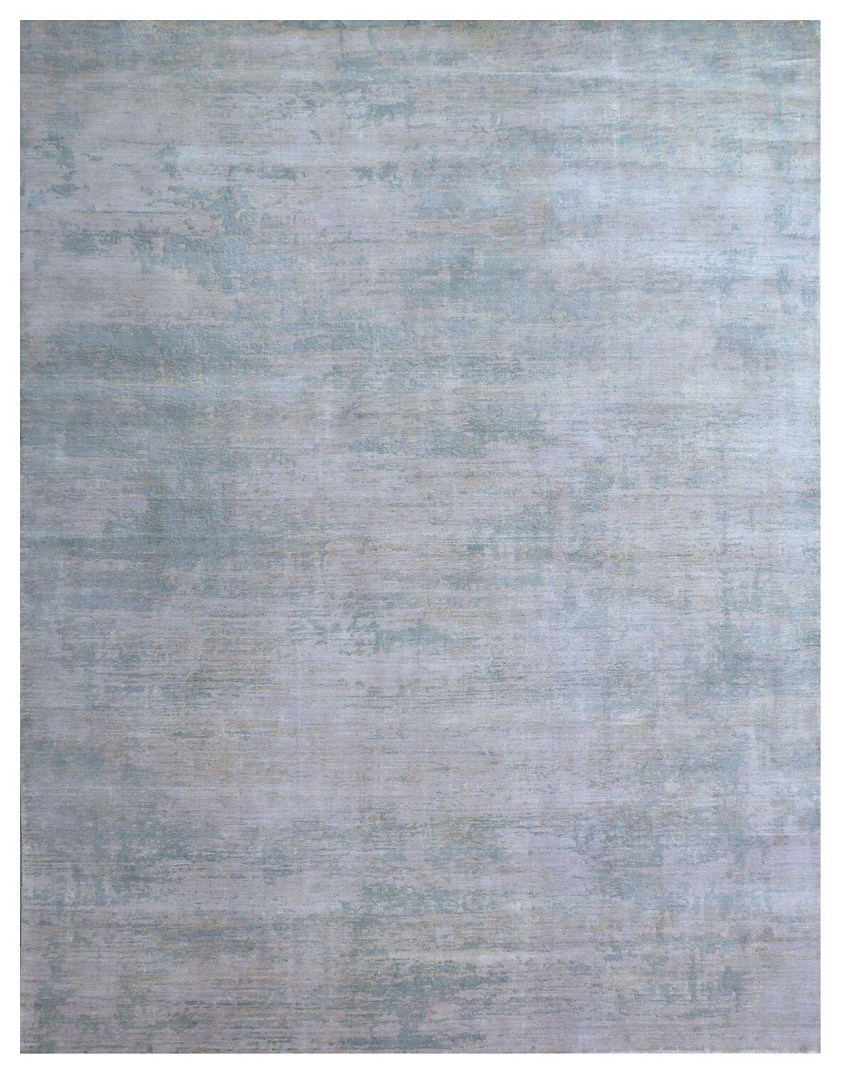 Enzo Hand-Woven Gray Area Rug Rug Size: Rectangle 8' x 10'