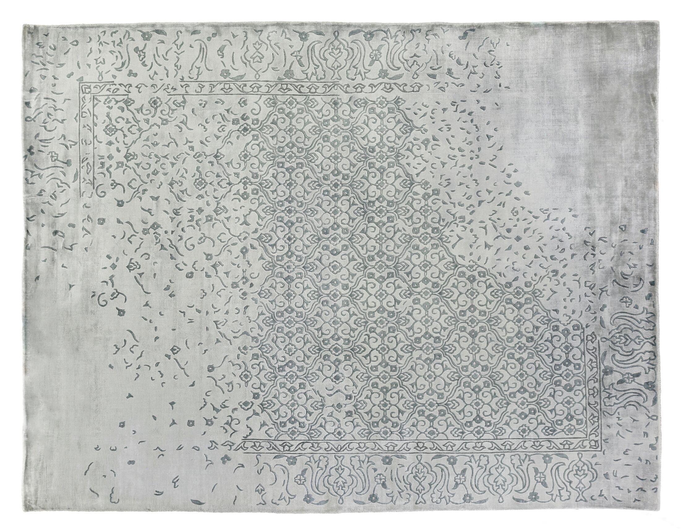 Envy Hand-Woven Gray Area Rug Rug Size: Rectangle 10' x 14'