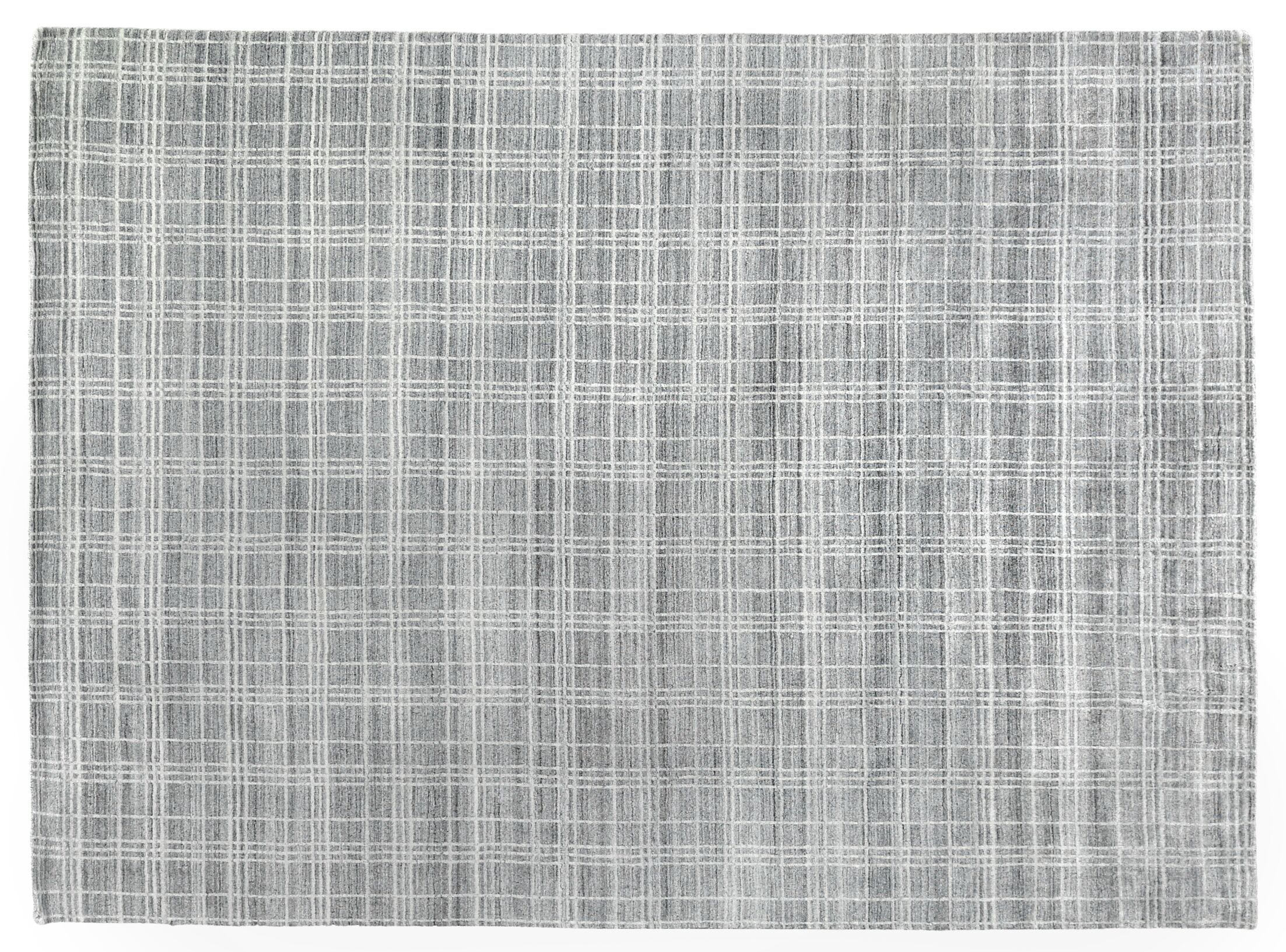Fairbanks Hand-Woven Gray Area Rug Rug Size: Rectangle 14' x 18'