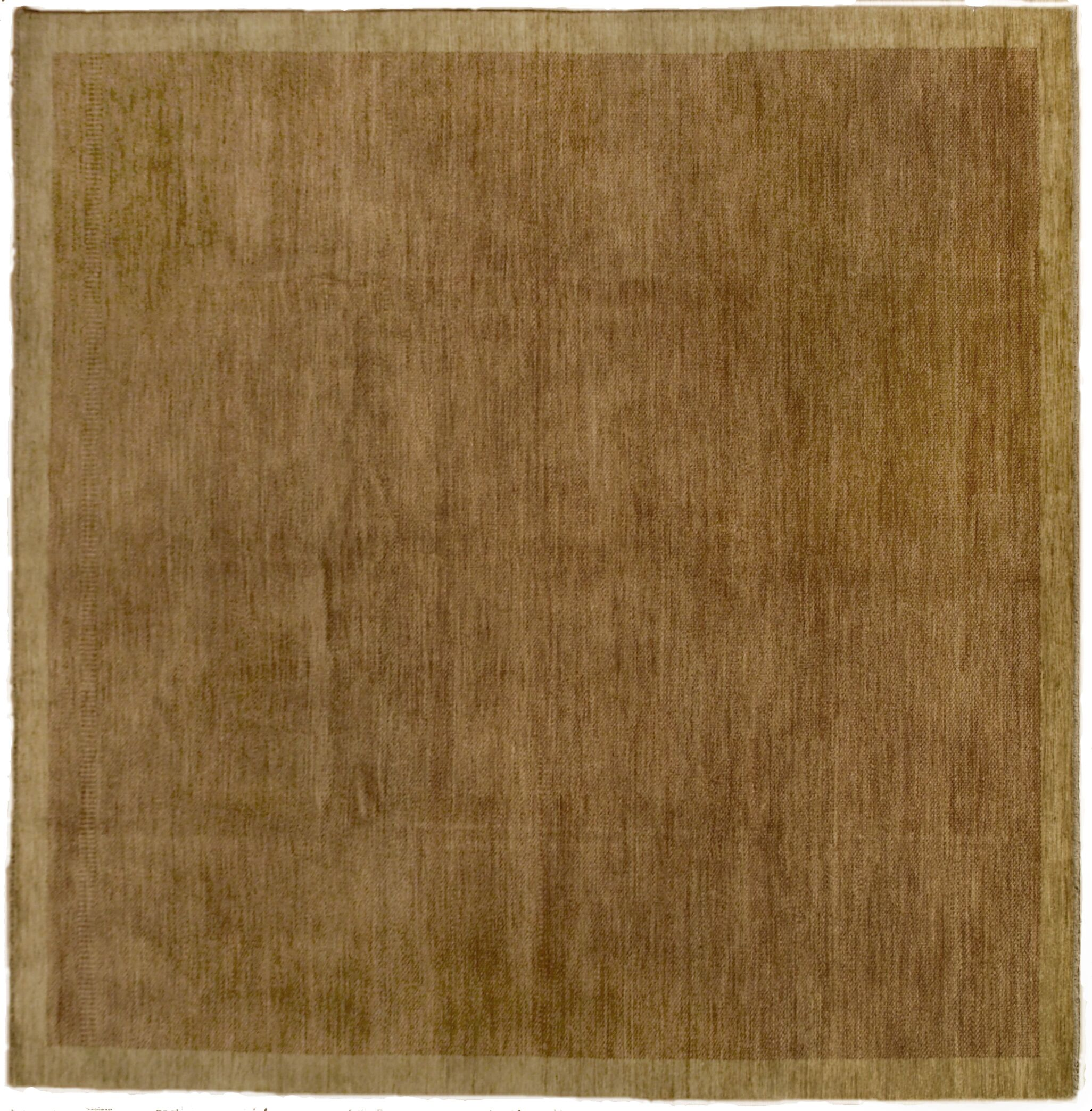 Buckingham Hand-Knotted Wool Brown Area Rug Rug Size: Rectangle 9' x 10'
