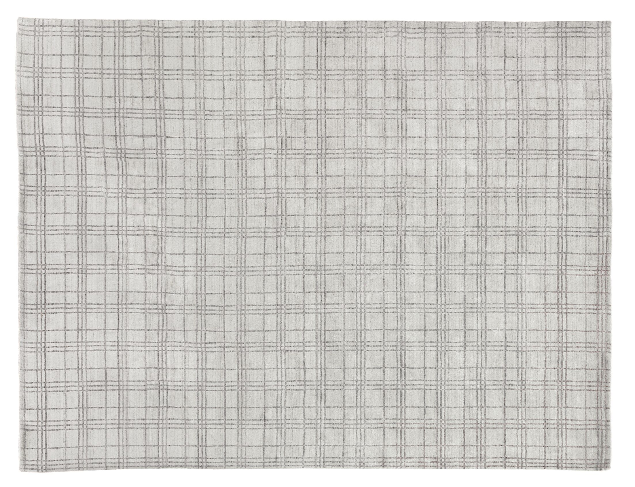 Fairbanks Hand-Woven Beige Silver Area Rug Rug Size: Rectangle 12' x 15'