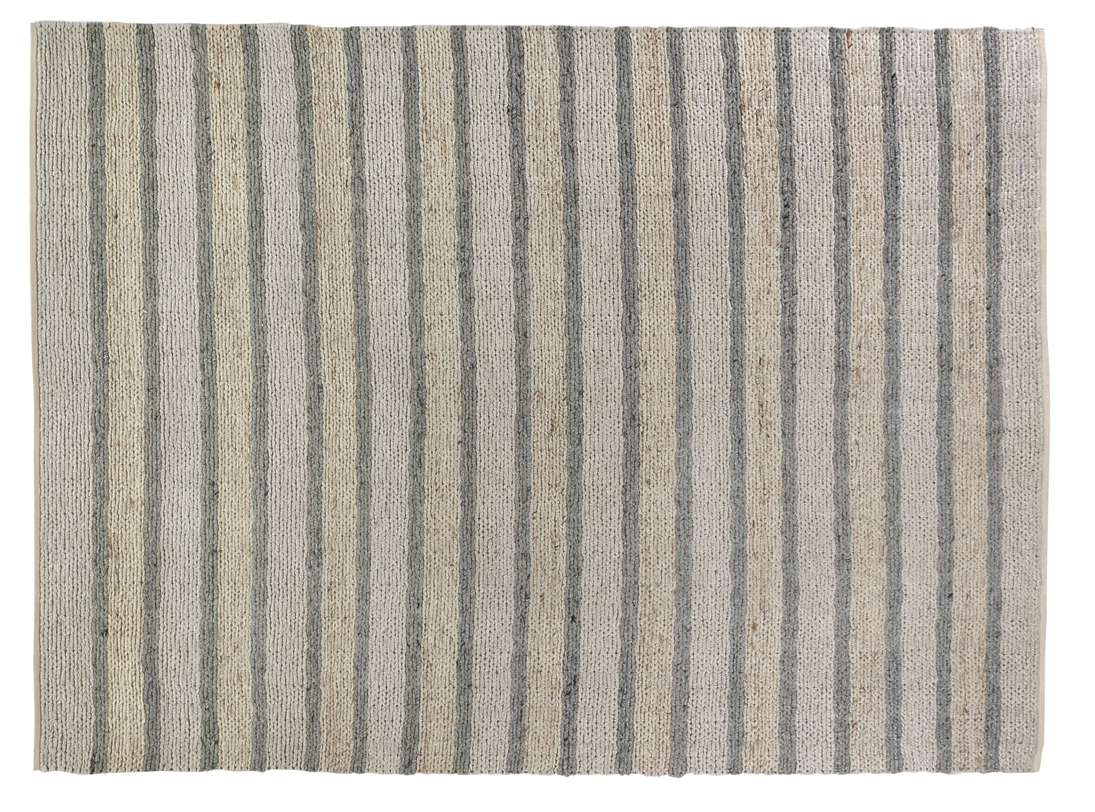 Lauryn Hand-Woven Natural Area Rug Rug Size: Rectangle 8' x 10'