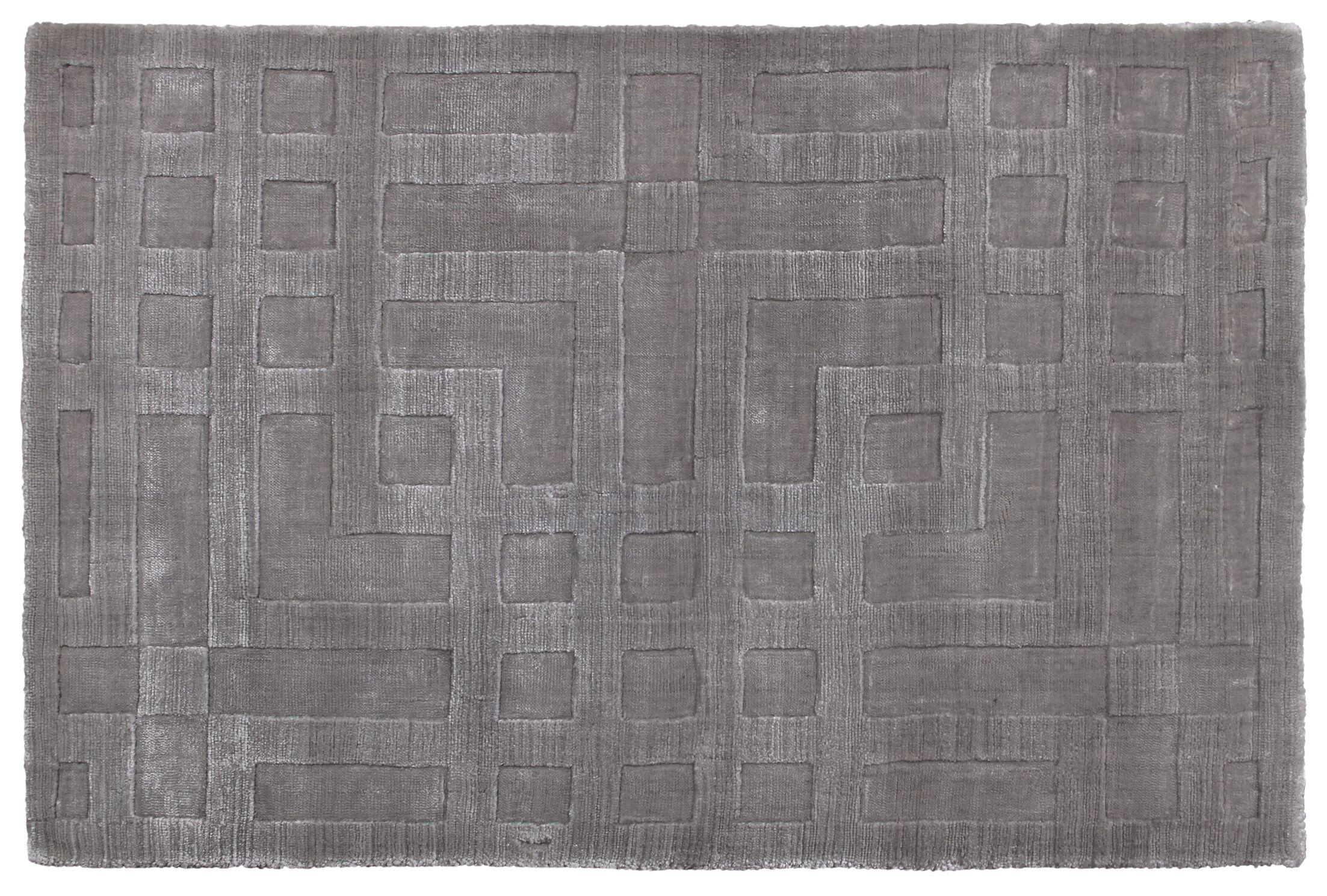 Hazel Hand-Woven Gray Area Rug Rug Size: Rectangle 8' x 10'