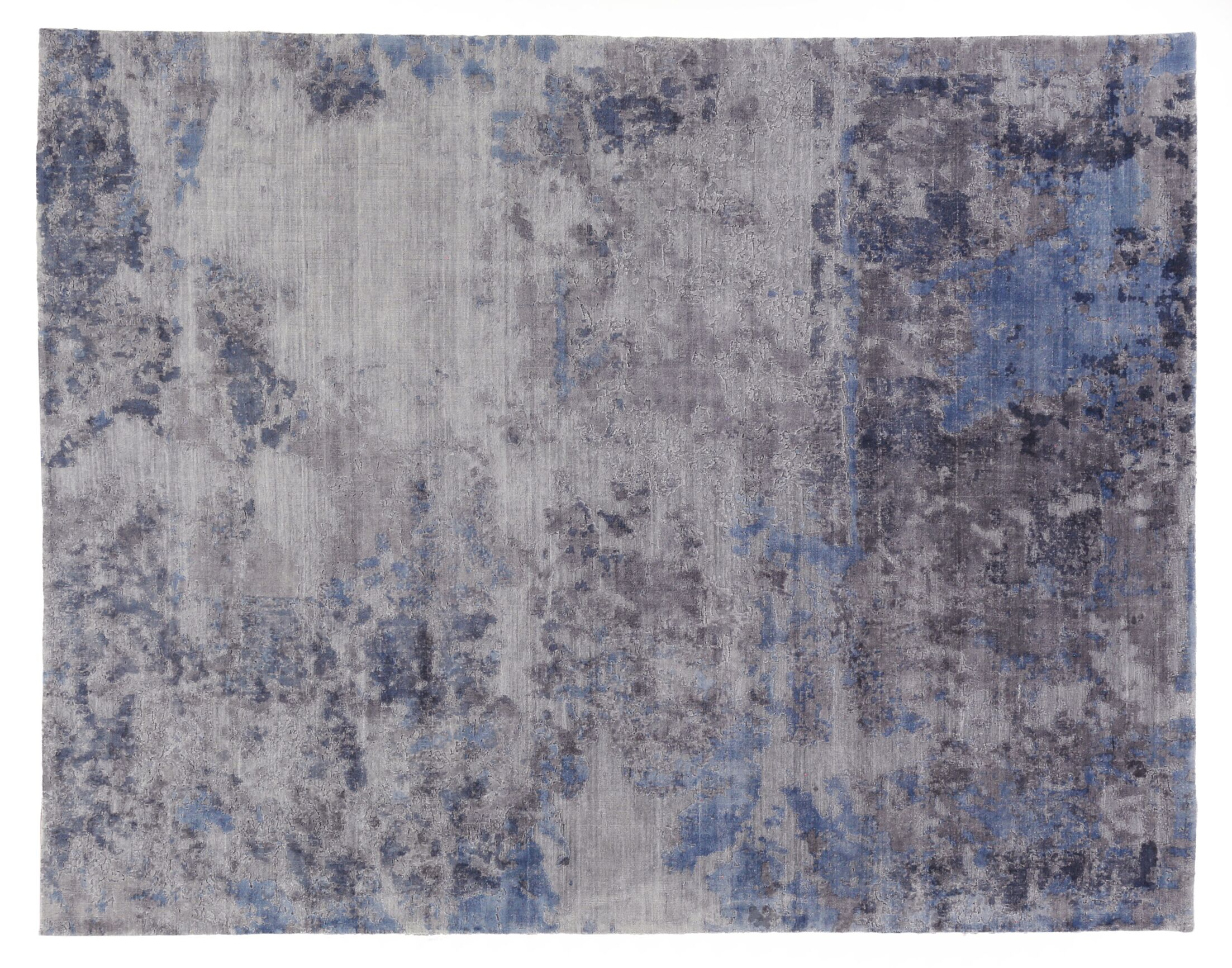 Reflections Hand-Woven Gray Area Rug Rug Size: Rectangle 9' x 12'