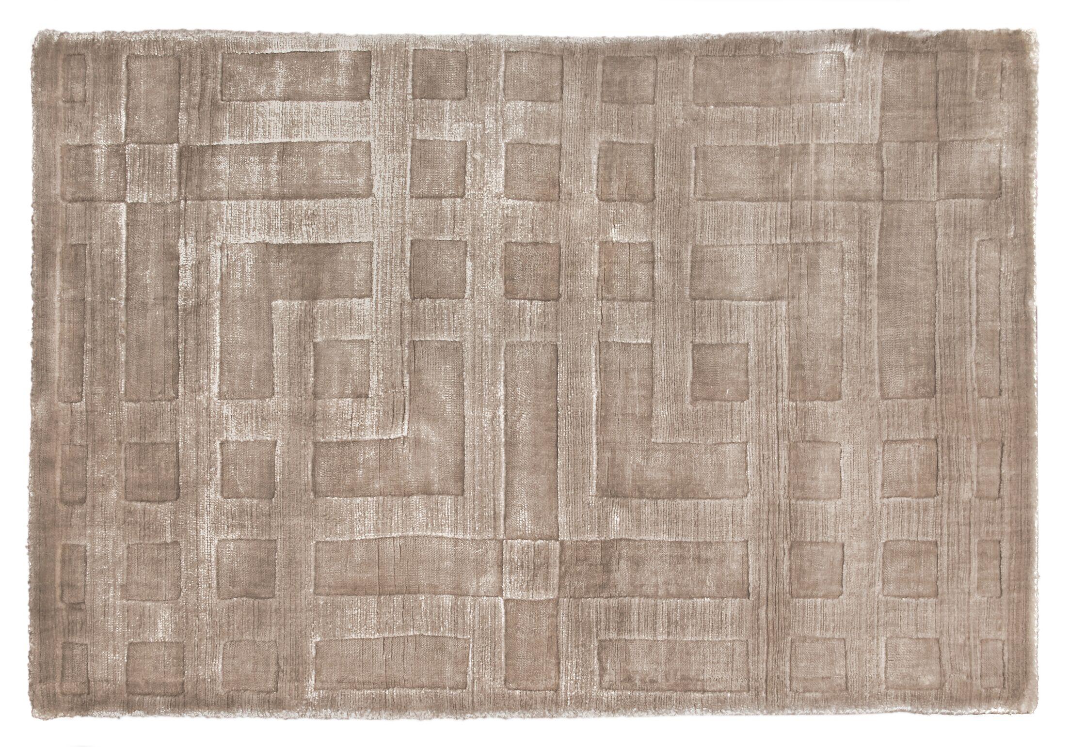 Hazel Hand-Woven Beige Area Rug Rug Size: Rectangle 8' x 10'