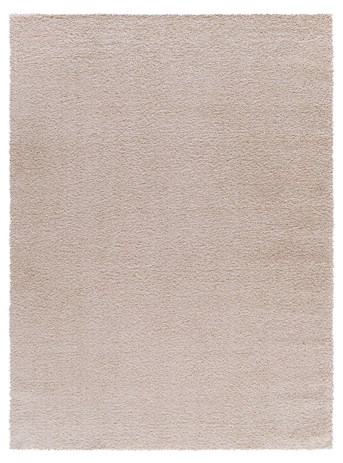 Gassin Shag Beige Area Rug Rug Size: Rectangle 2' x 8'