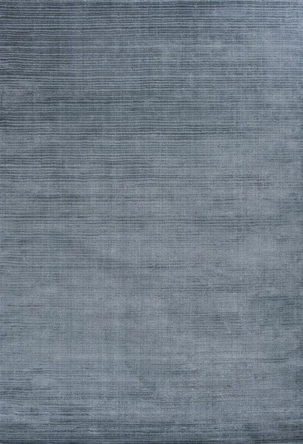 Charm Hand-Loomed Blue Area Rug Rug Size: 8'3
