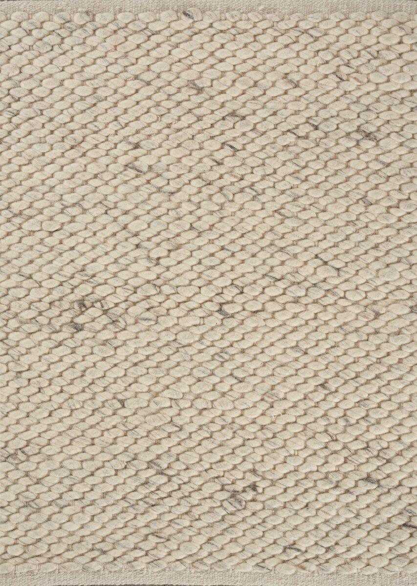 Nordic Grey Area Rug Rug Size: 6'6