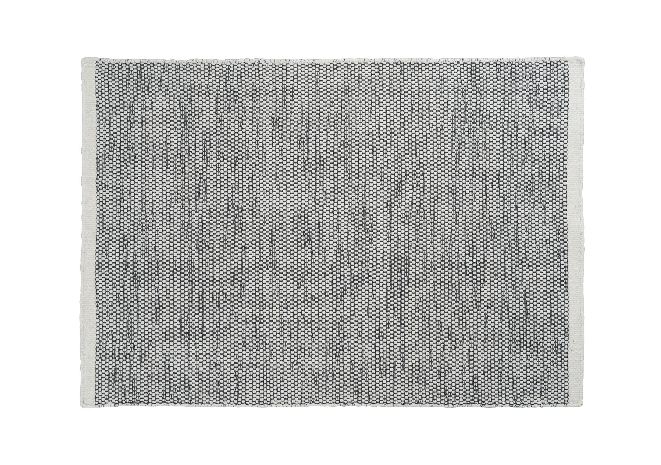 Mariya Hand Woven Wool Gray Area Rug Rug Size: 8'3