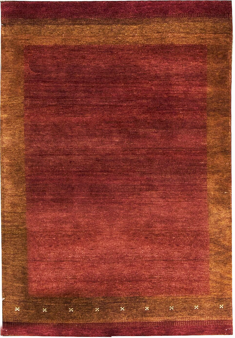 One-of-a-Kind Kaschkuli Gabeh Hand-Knotted Wool Red Area Rug