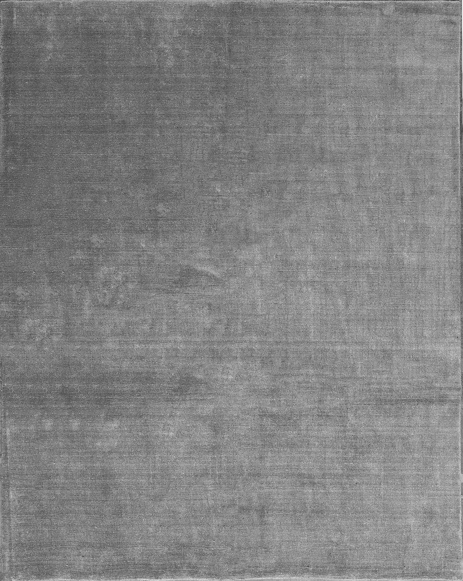 One-of-a-Kind Gabbeh Hand-Knotted Gray Area Rug