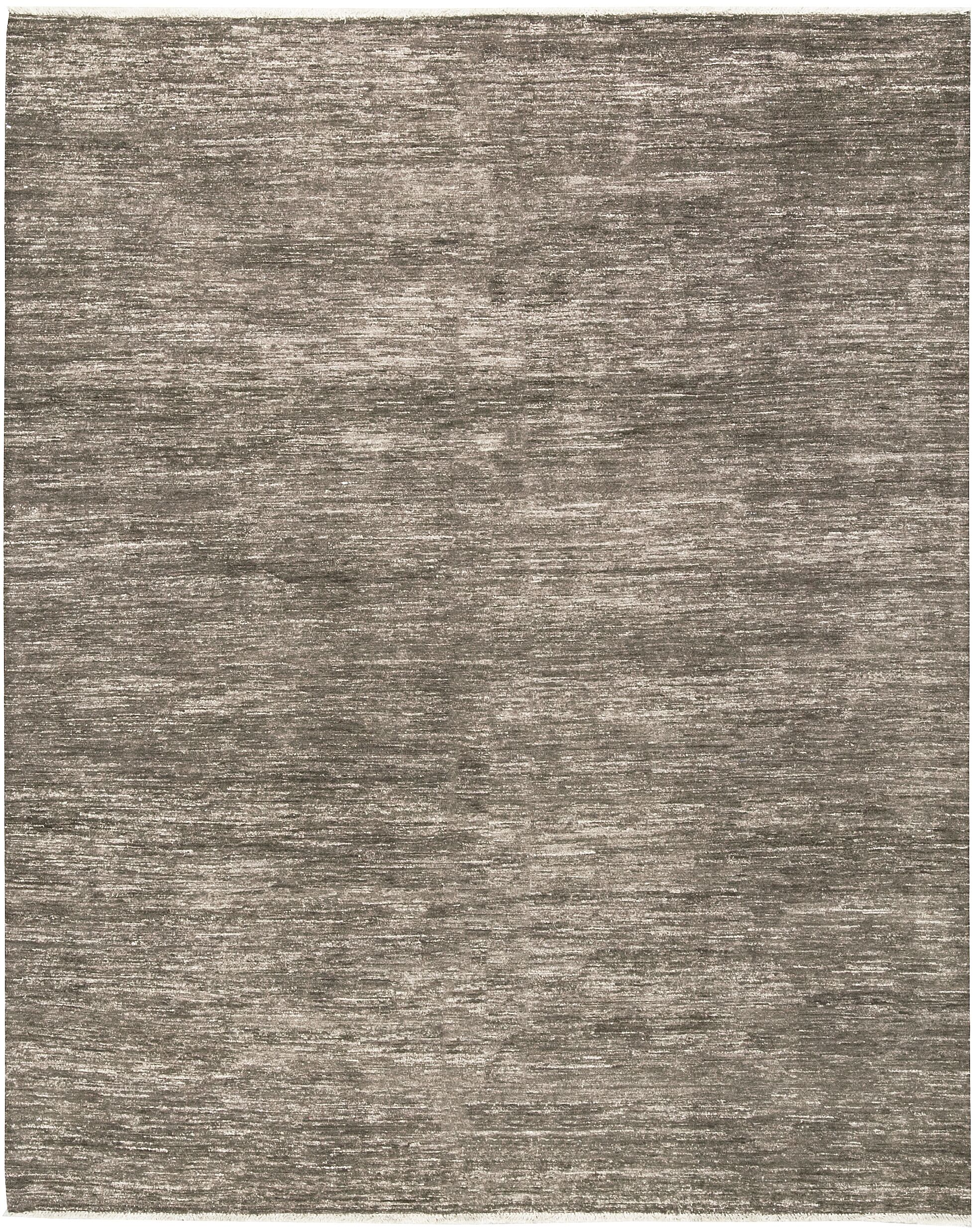 One-of-a-Kind Gabbeh Hand-Knotted Wool Brown/Ivory Area Rug