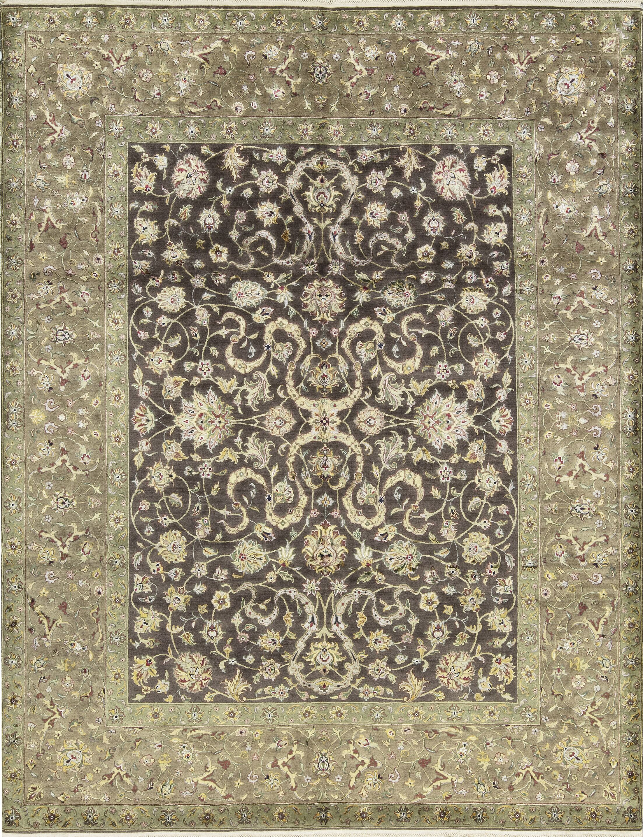 One-of-a-Kind Dharma Hand-Knotted Brown/Camel Indoor Area Rug