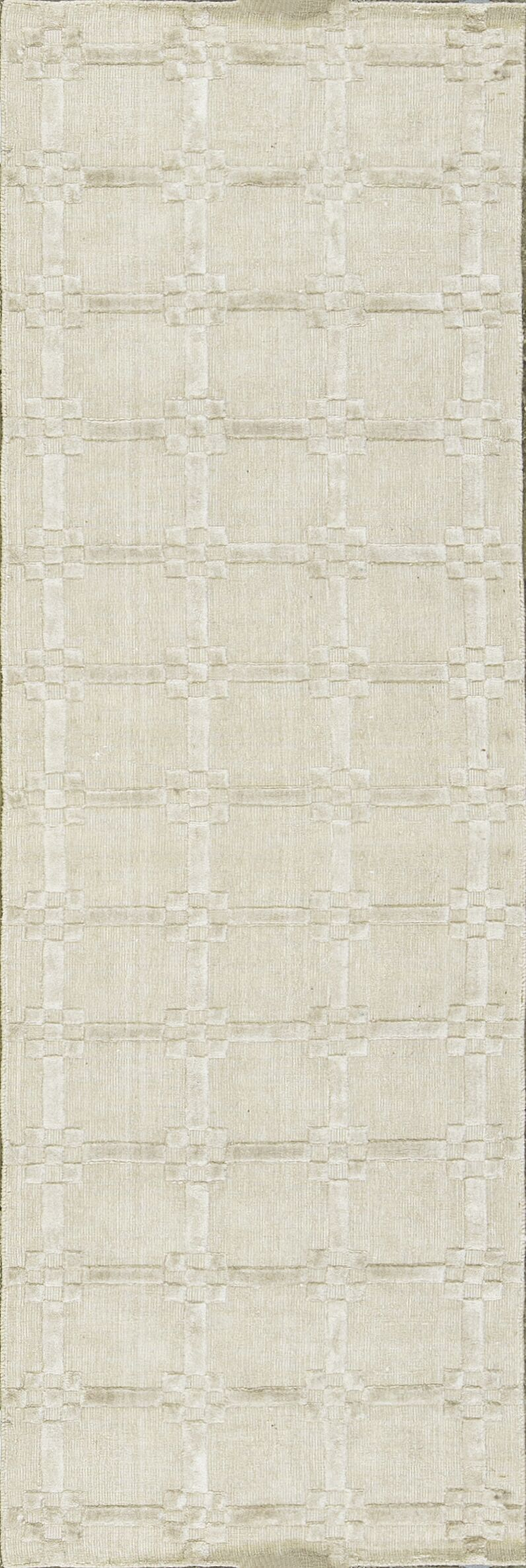One-of-a-Kind Hand-Knotted Beige Indoor Area Rug