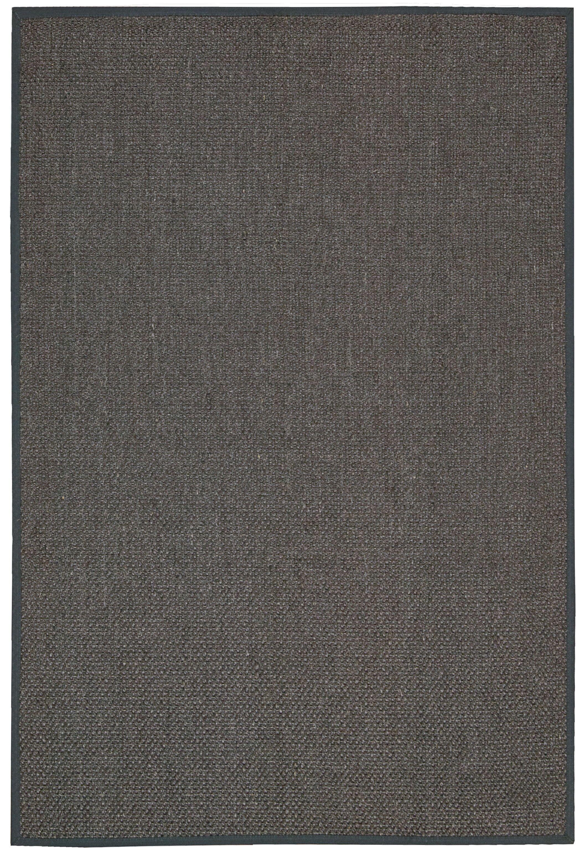Kerala Hand Woven Java Charcoal Area Rug Rug Size: Rectangle 9' x 12'