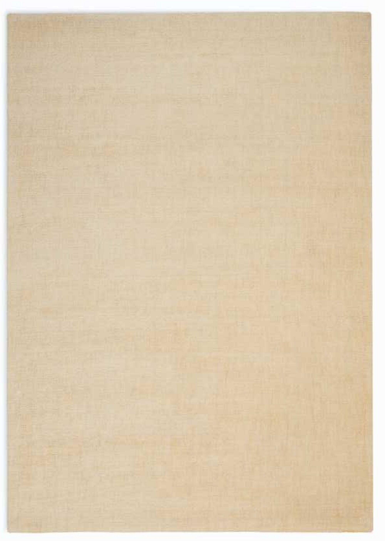 LA Hand-Woven Ivory Area Rug Rug Size: Rectangle 8' x 10'