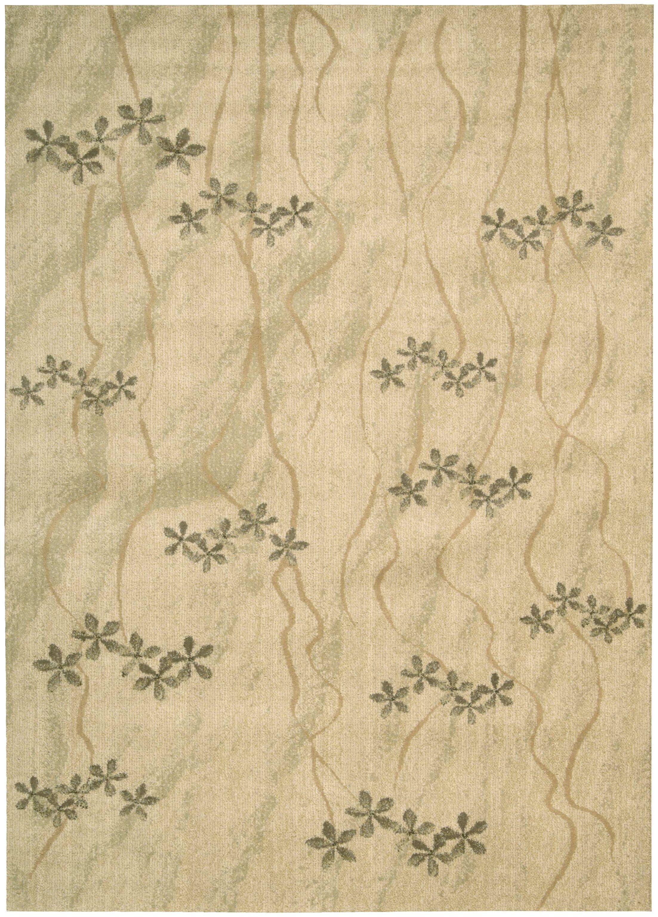 CK 14 Woven Textures Beige Area Rug Rug Size: Rectangle 3'6