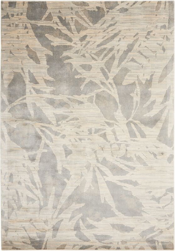Maya Borneo Zinc Area Rug Rug Size: Rectangle 9'3