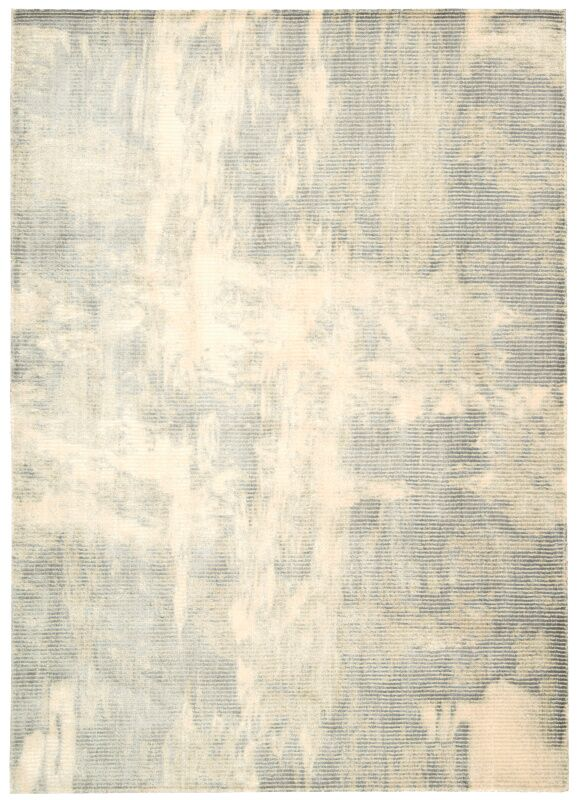 Maya Lucid Dew Area Rug Rug Size: Rectangle 7'6