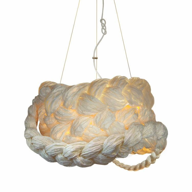 The Bride 1-Light Novelty Pendant Finish: Natural White